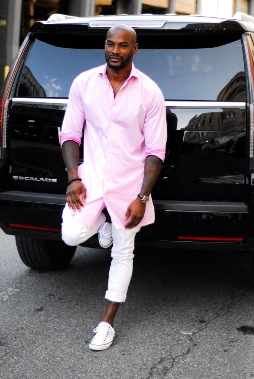 Tyson in Pink
